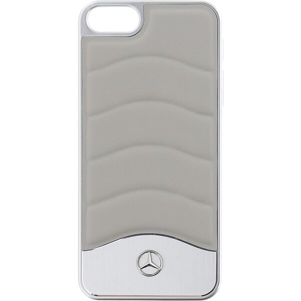 Pouzdro Mercedes Hard Case Wave III Aluminium iPhone 5 5S SE Šedá 53911dcaa6f