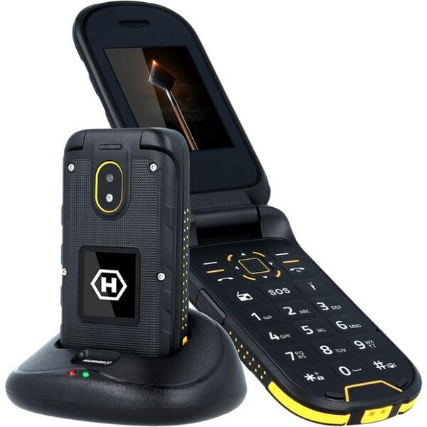 myPhone Hammer Bow Plus Dual SIM černý