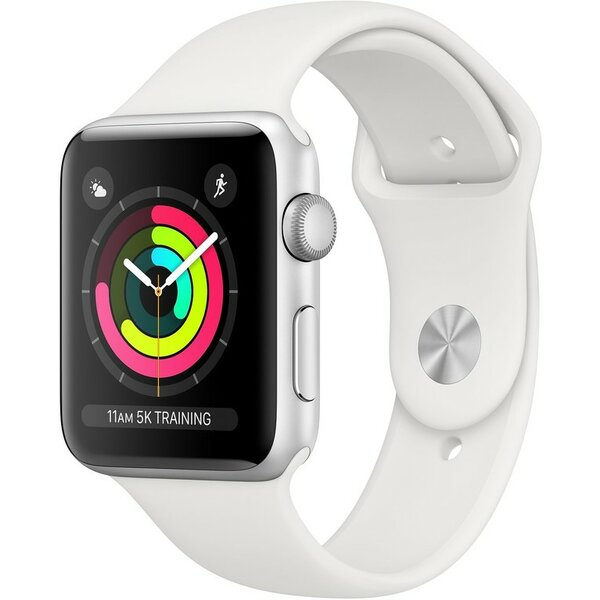 Apple Watch Series 3 42mm Stříbrná