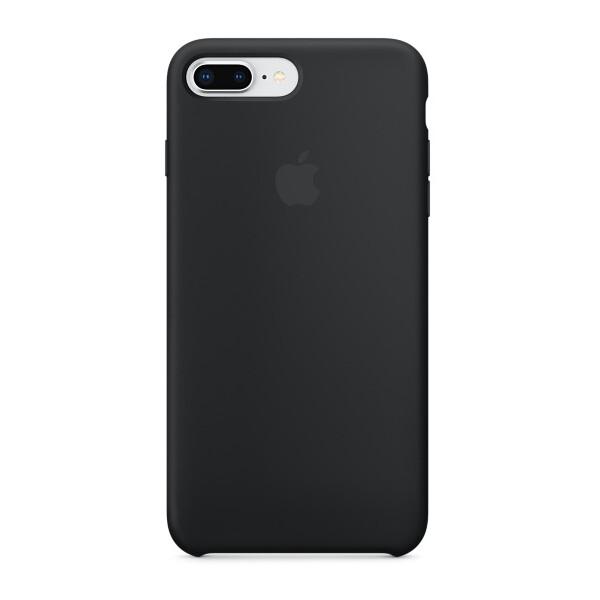 Pouzdro Apple iPhone 8 Plus / 7 Plus Silicone Case MQGW2ZM/A Černá