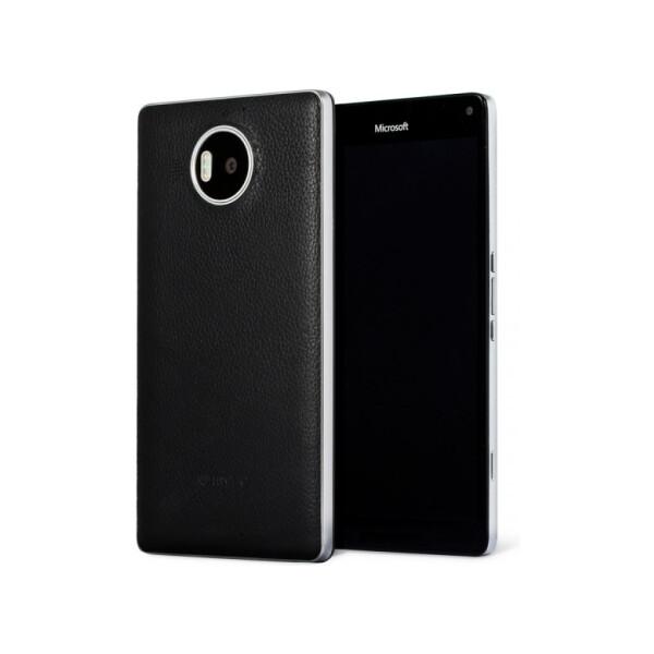 MOZO zadní kryt Microsoft Lumia 950 XL černý