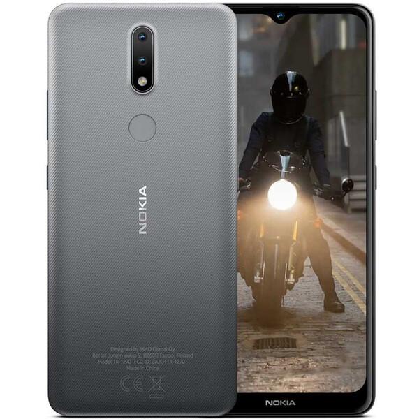 Nokia 2.4 2GB/32GB Dual SIM šedá