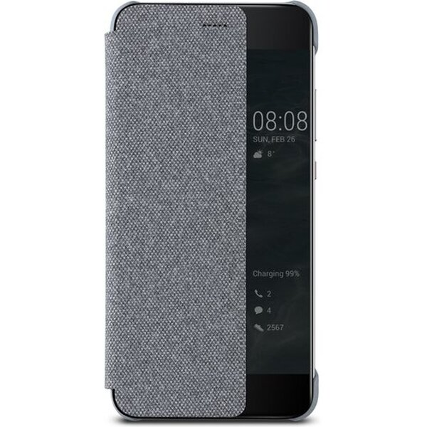 Huawei S-View pouzdro Huawei P10 Plus šedé