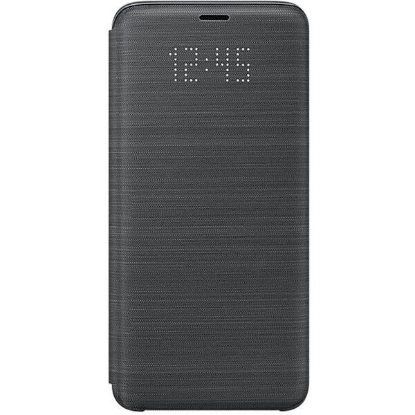 Samsung flipové pouzdro LED View Samsung Galaxy S9 černé EF-NG960PBEGWW Černá