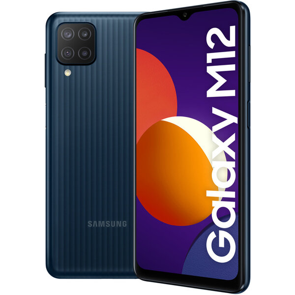 Samsung Galaxy M12 4GB/64GB černá