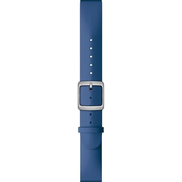 Nokia Accessory silikonový řemínek (20mm) Activité Steel HR (40mm) modrý NOK-SIL-20-DB Modrá