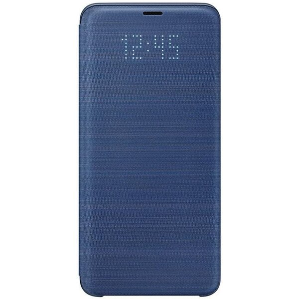 Samsung flipové pouzdro LED View Samsung Galaxy S9+ modré EF-NG965PLEGWW Modrá
