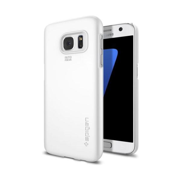 Spigen Thin Fit zadní kryt Samsung Galaxy S7 bílý