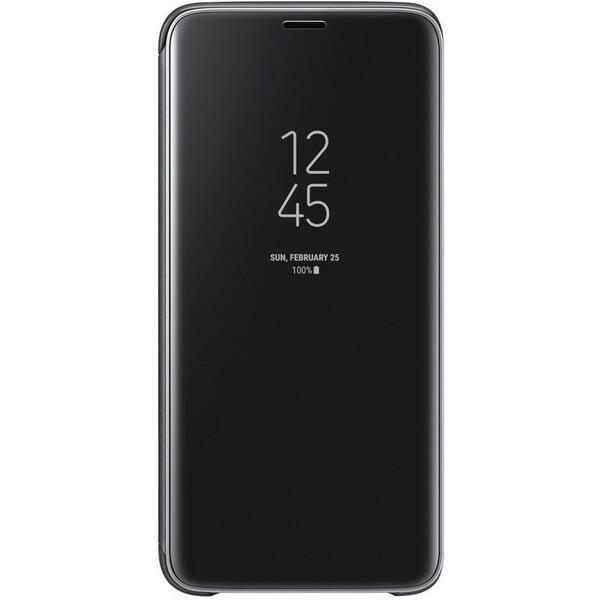 Samsung flipové pouzdro Clear View se stojánkem Samsung Galaxy S9 černé EF-ZG960CBEGWW Černá
