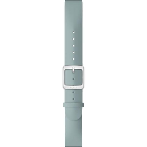 Nokia Accessory silikonový řemínek (18mm) Activité Steel a Steel HR (36mm) tyrkysový NOK-SIL-18-M Tyrkysová