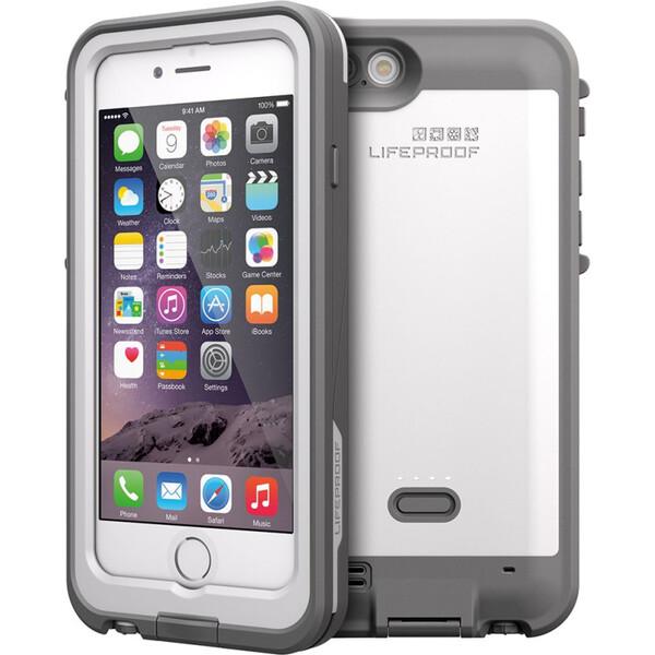 LifeProof Fre Power odolné pouzdro s 2600 mAh bateríí iPhone 6/6S bílé
