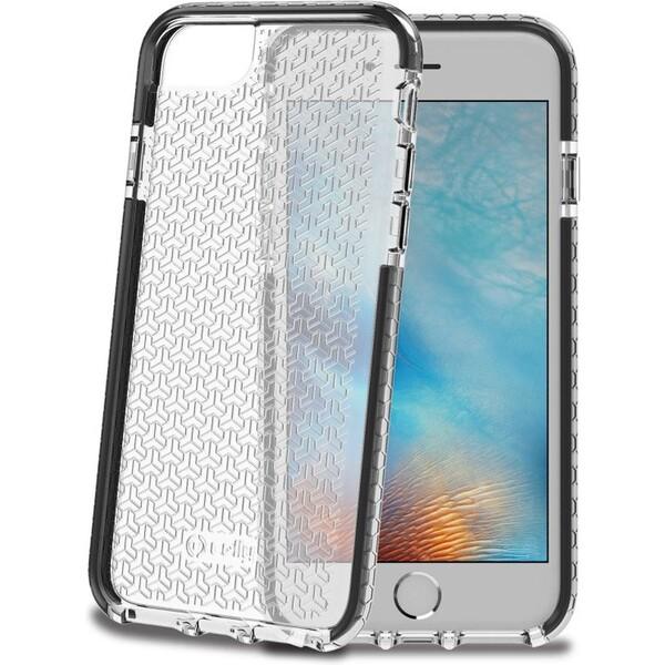 Pouzdro Celly Hexagon Apple iPhone 7/8 černé Černá