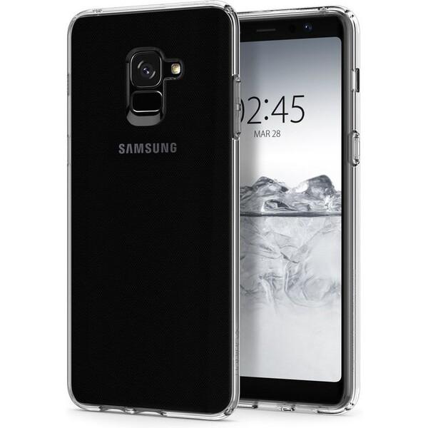 Spigen Liquid Crystal kryt Samsung Galaxy A8+ (2018) čirý