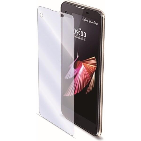 CELLY Glass ochranné tvrzené sklo se speciální antiblueray vrstvou pro mobilní telefon LG X Screen Čirá