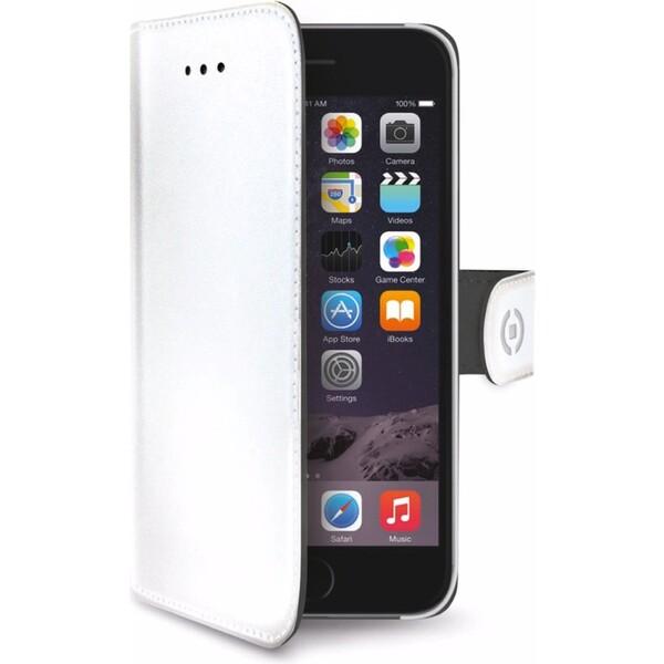 CELLY Wally pouzdro Apple iPhone 6/6S bílé