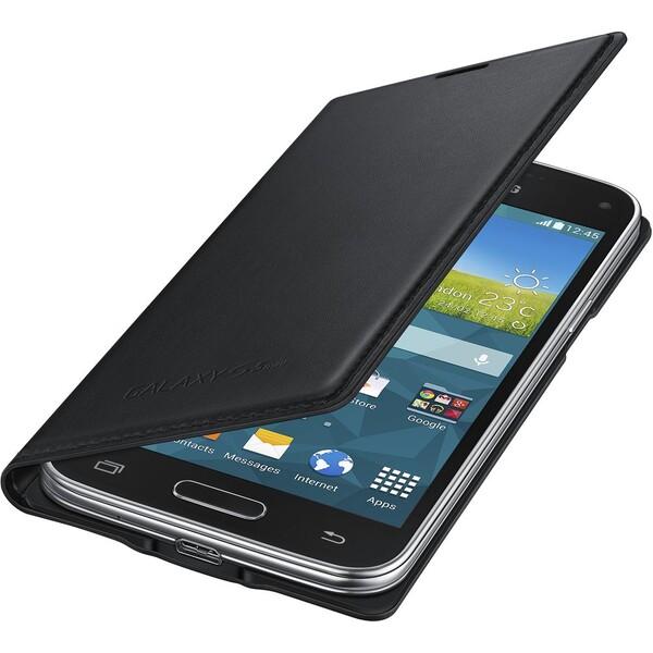 Samsung EF-FG800BB flip pouzdro Galaxy S5 mini černé