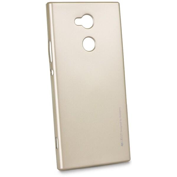 Pouzdro Mercury i-Jelly Sony Xperia XA2 Zlatá