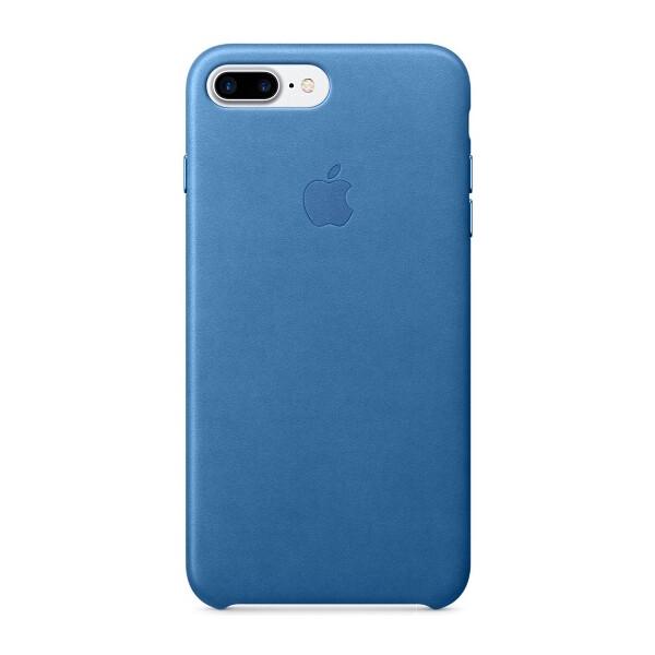 Pouzdro APPLE iPhone 7 Plus Leather Case Jezerně modrá
