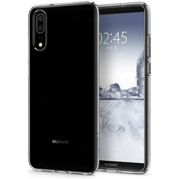Pouzdro SPIGEN Liquid Crystal Clear Huawei P20 Čirá