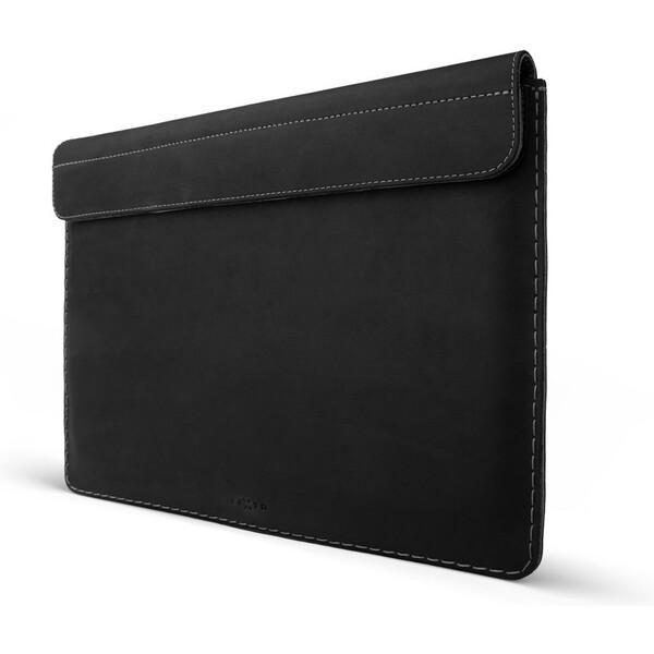 """FIXED Oxford kožené pouzdro Apple Macbook 12"""" černé"""