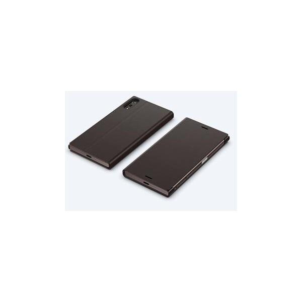 Sony SCSF10 Style Cover flipové pouzdro Sony Xperia XZ černé