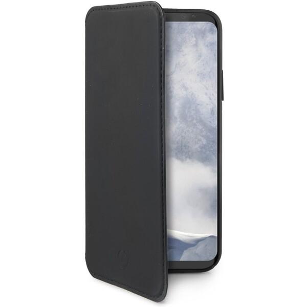 CELLY Prestige pouzdro typu kniha Samsung Galaxy S9 černé