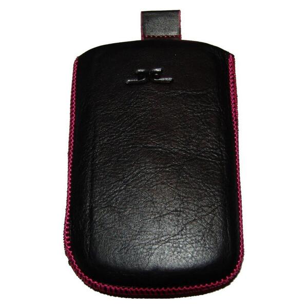 DC Uni pouzdro TOP 26 L (115x62mm) černé/růžové šití