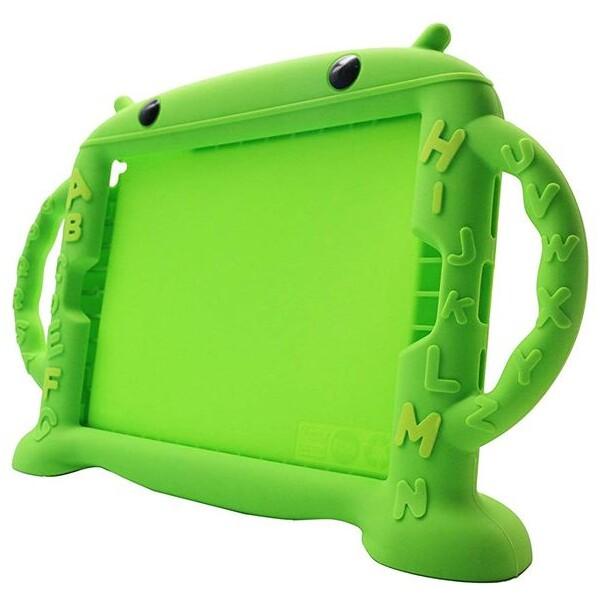Cartoon Monkey ochranné pouzdro Apple iPad 2/3/4 zelené