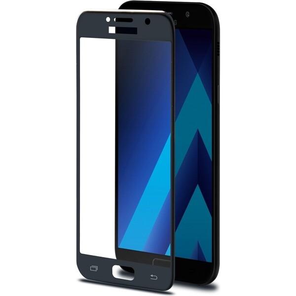 CELLY Glass Ochranné tvrzené sklo Samsung Galaxy A3 (2017) 3DGLASS643BK Černá