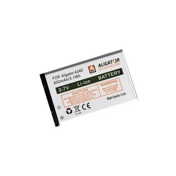 Baterie Aligator A3400BAL Bílá
