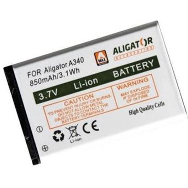 Aligator baterie pro Aligator A340 850 mAh