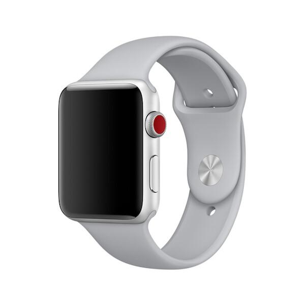 Apple Watch sportovní řemínek mlhavě šedý 42mm MLJU2ZM/A Mlhavě šedá
