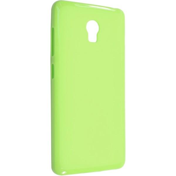 Pouzdro Fixed Lenovo Vibe P1 zadní silikon zelené Zelená