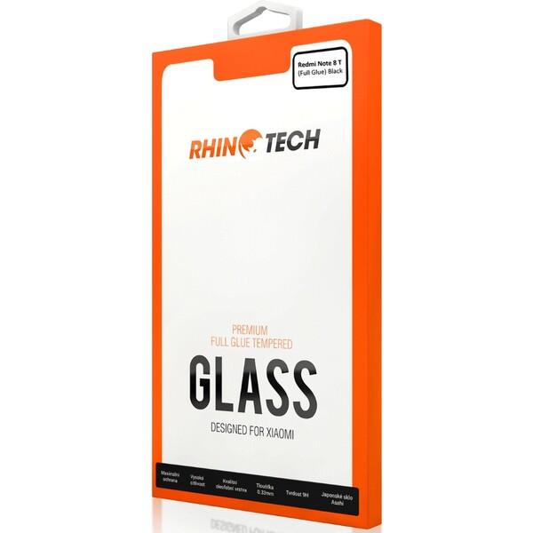 RhinoTech 2 Full Glue 2.5D tvrzené sklo Xiaomi Redmi Note 8T černé