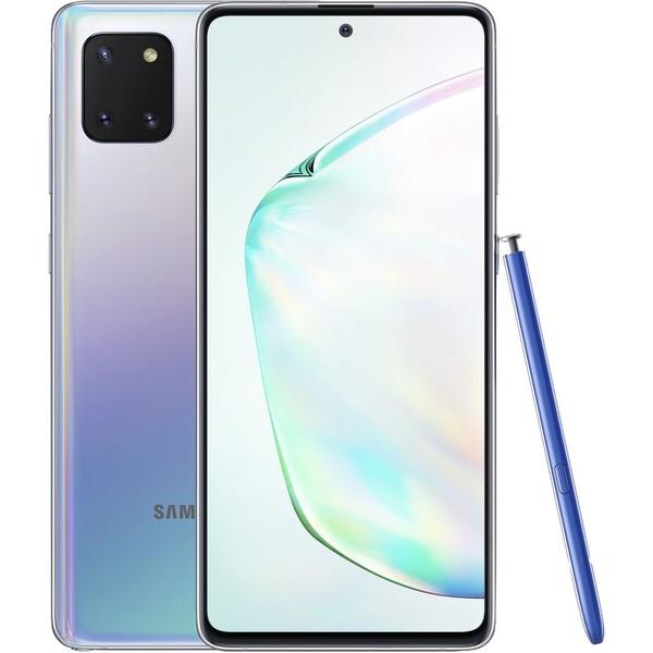 Samsung Galaxy Note10 Lite Dual SIM stříbrná