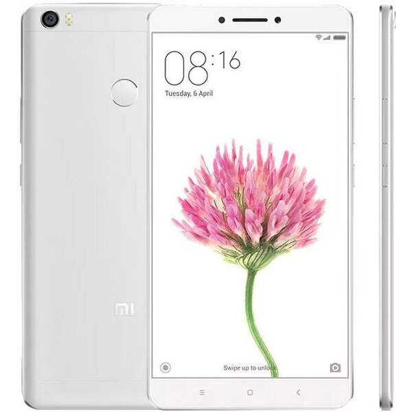 Xiaomi Mi Max 64GB Dual SIM LTE stříbrný