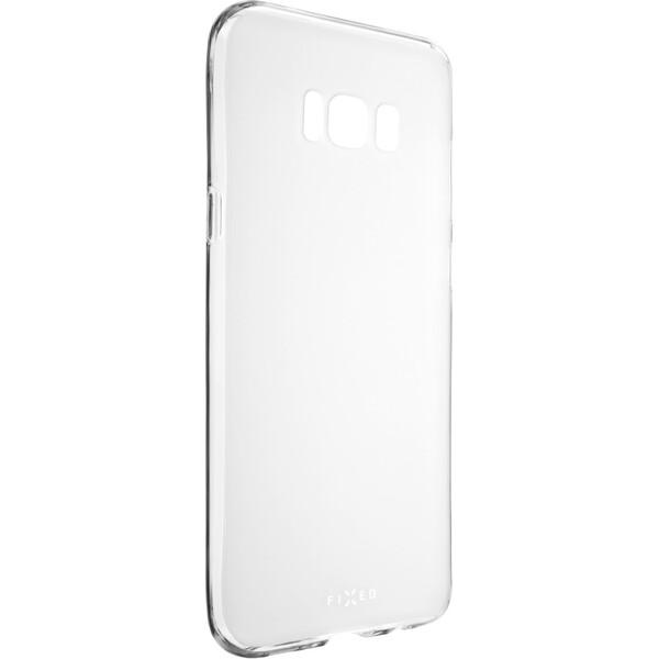 Pouzdro FIXED TPU gelové Samsung Galaxy S8 Plus čiré Matná