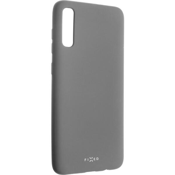 FIXED Story silikonový kryt Samsung Galaxy A70 šedý