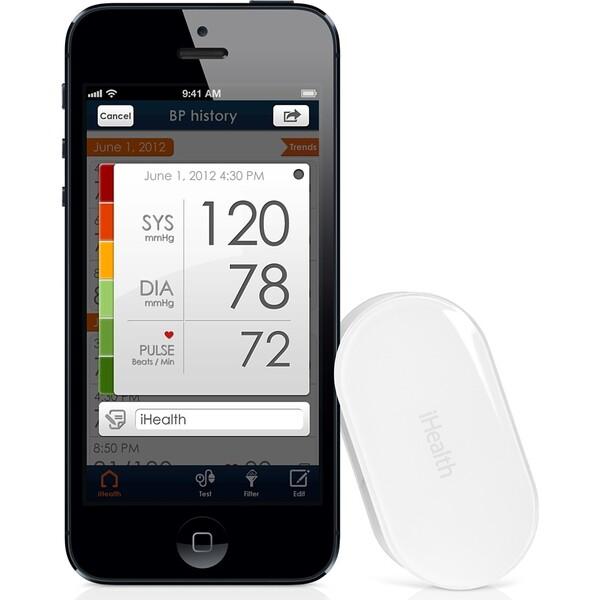 iHealth PO3 Bluetooth pulsní oxymetr