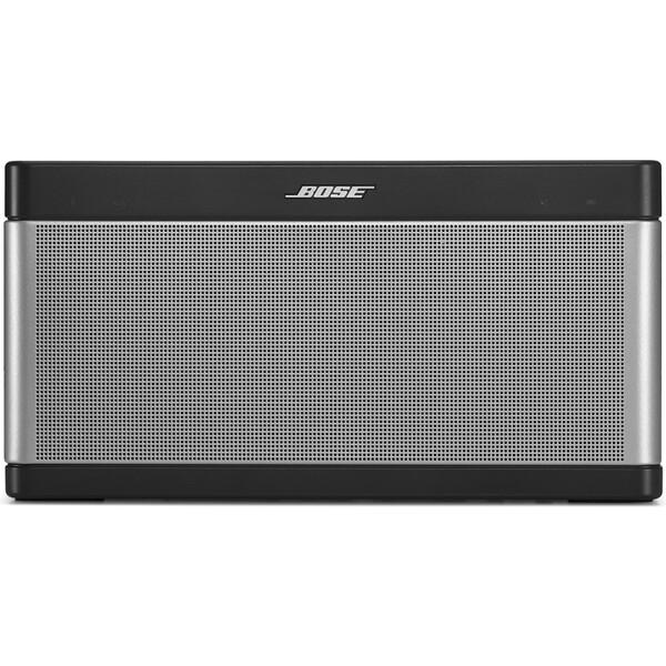 Bose SoundLink Mobile III Bluetooth bezdrátový reproduktor stříbrný