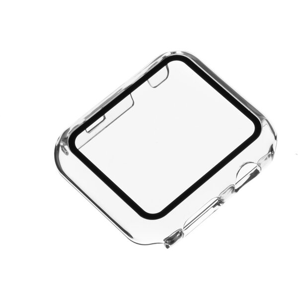 FIXED Pure ochranné pouzdro s temperovaným sklem Apple Watch 40mm čiré