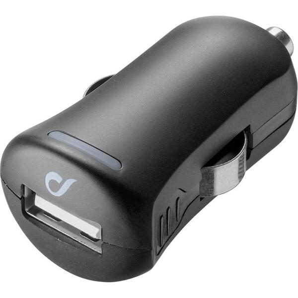 Cellularline Unique Design autonabíječka pro iPhone 10W/2A černá Černá