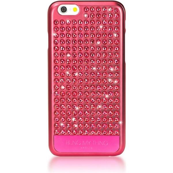 Pouzdro Bling My Thing Extravaganza Pure Apple iPhone 6 ružové Růžová