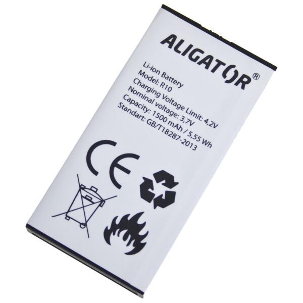 Baterie ALIGATOR AR10BAL Bílá