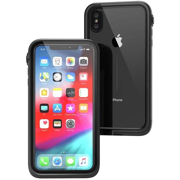 Pouzdro CATALYST Apple iPhone XS Max CATIPHOXBLKL Černá