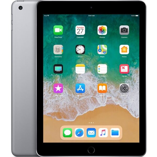 Apple iPad 32GB Wi-Fi vesmírně šedý (2018)