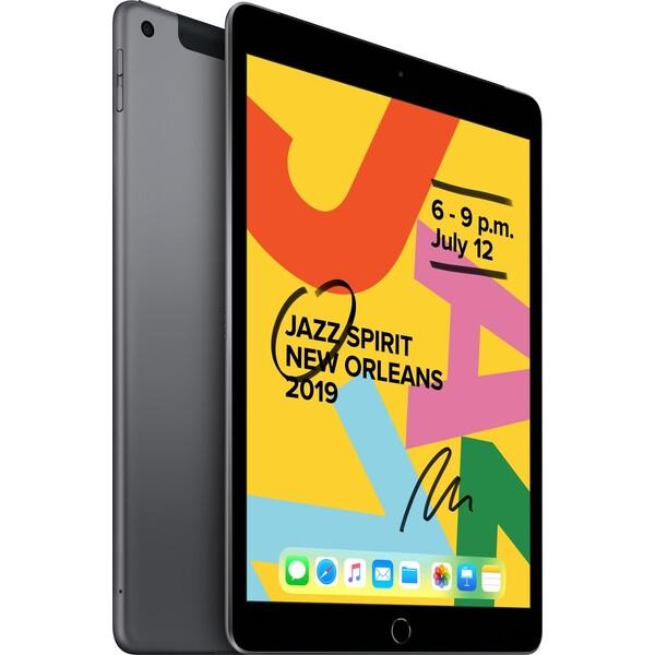 """Apple iPad 10,2"""" 128GB Wi-Fi + Cellular vesmírně šedý (2019)"""