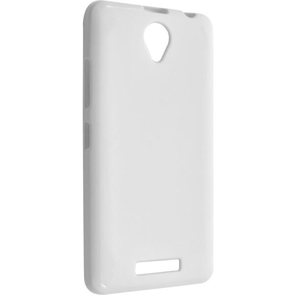 Pouzdro FIXED TPU gelové Lenovo A5000 bílé Bílá