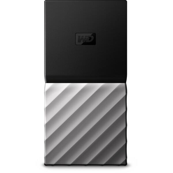 WD My Passport SSD 2TB černošedý