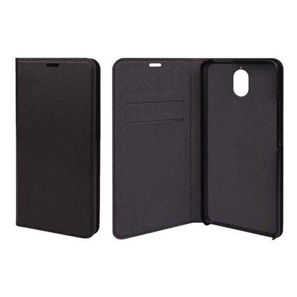 Nokia Slim flip pouzdro Nokia 3.1 Černá